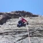 Matt Elggren climbing 1